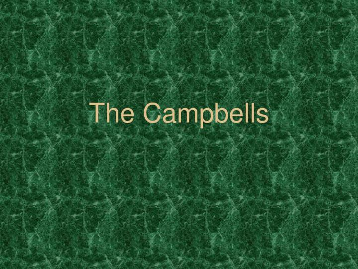 the campbells n.
