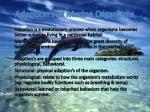 adaption s of marine organisms