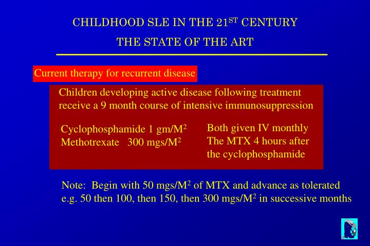 Current therapy for recurrent disease