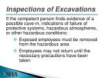 inspections of excavations1