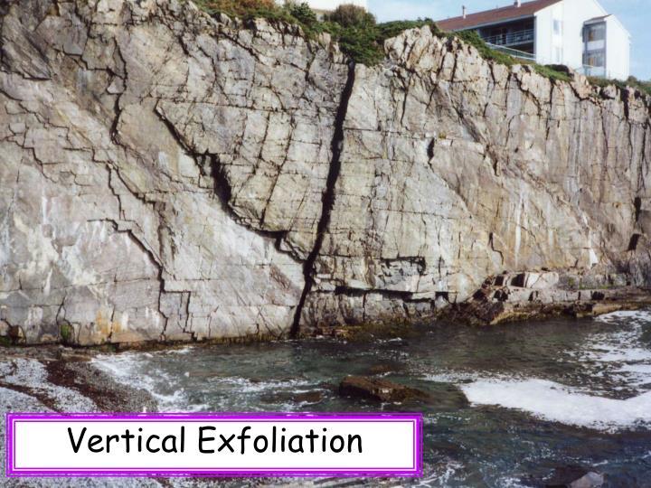 Vertical Exfoliation