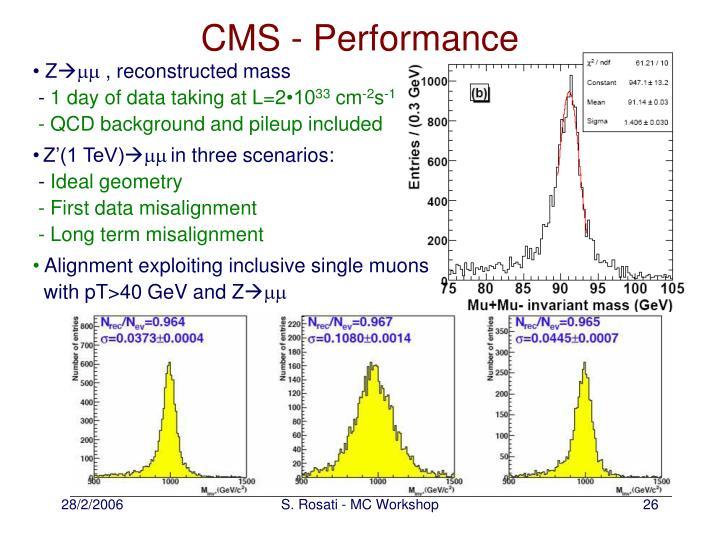 CMS - Performance