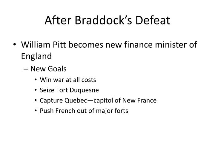 After Braddock's Defeat