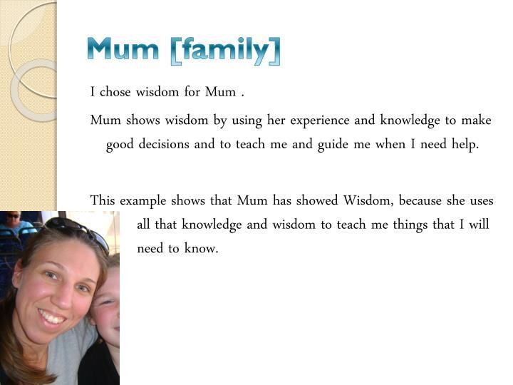 Mum [family]