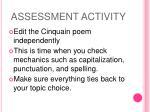 assessment activity2