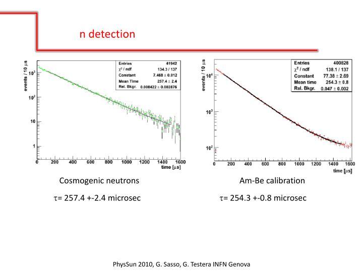 n detection