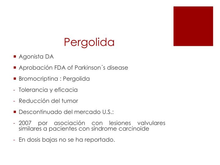 Pergolida