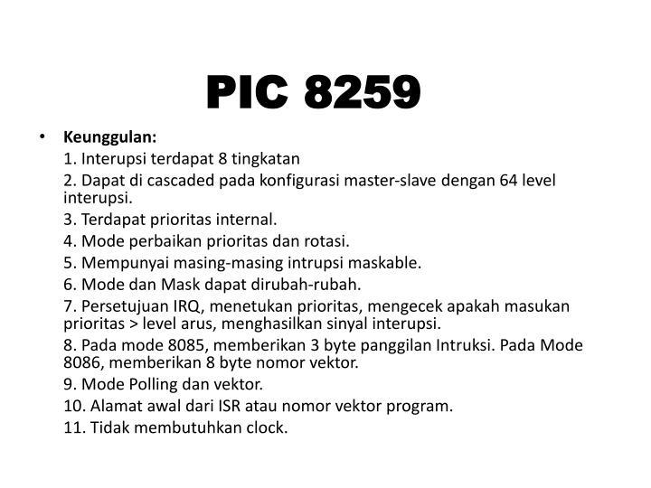 PIC 8259