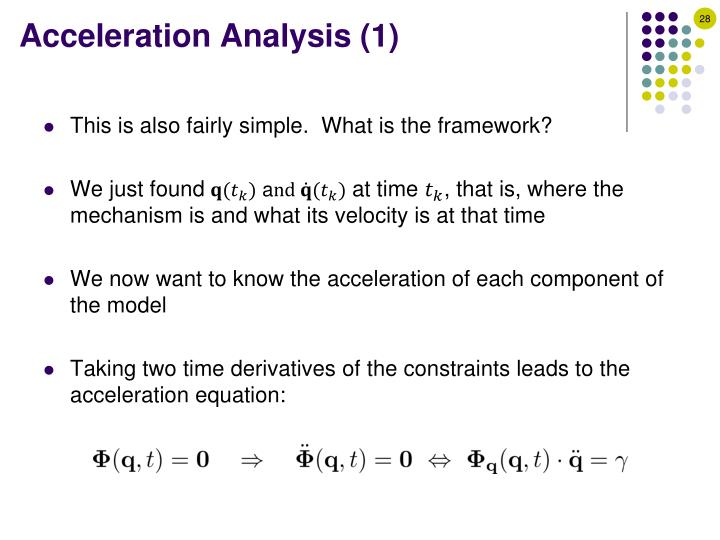 Acceleration Analysis (1)