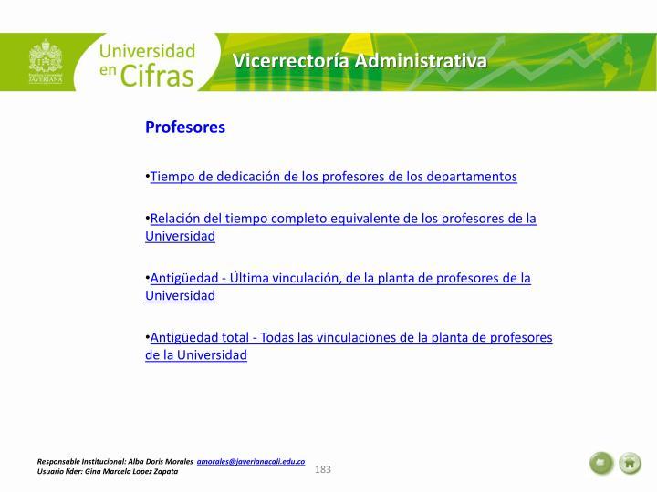 Vicerrectoría Administrativa
