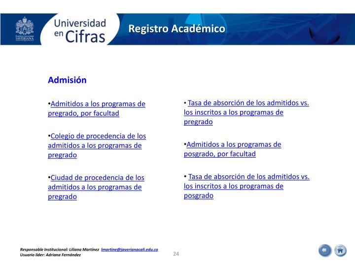 Registro Académico
