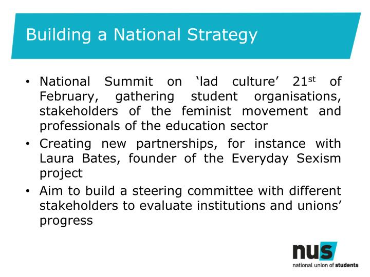 Building a National