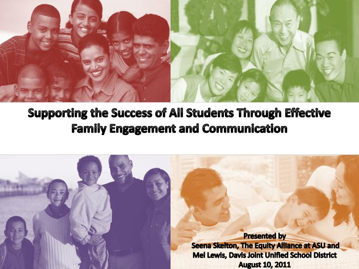 Supporting the Success of All Students