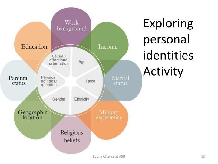 Exploring personal