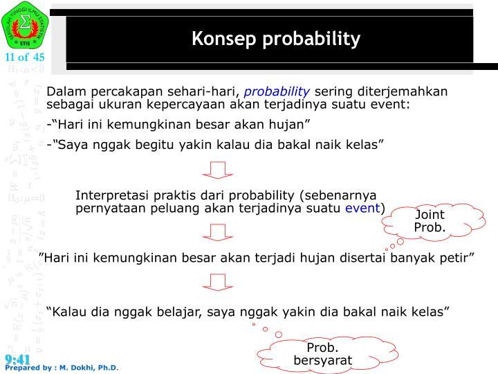 Konsep probability
