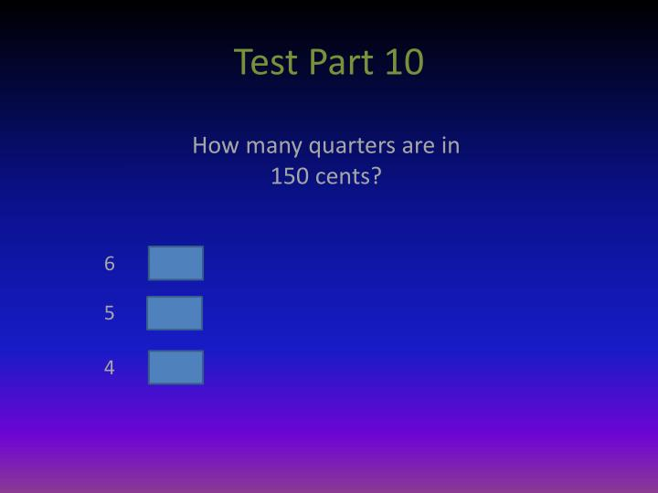 Test Part 10