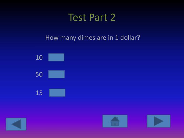 Test Part 2