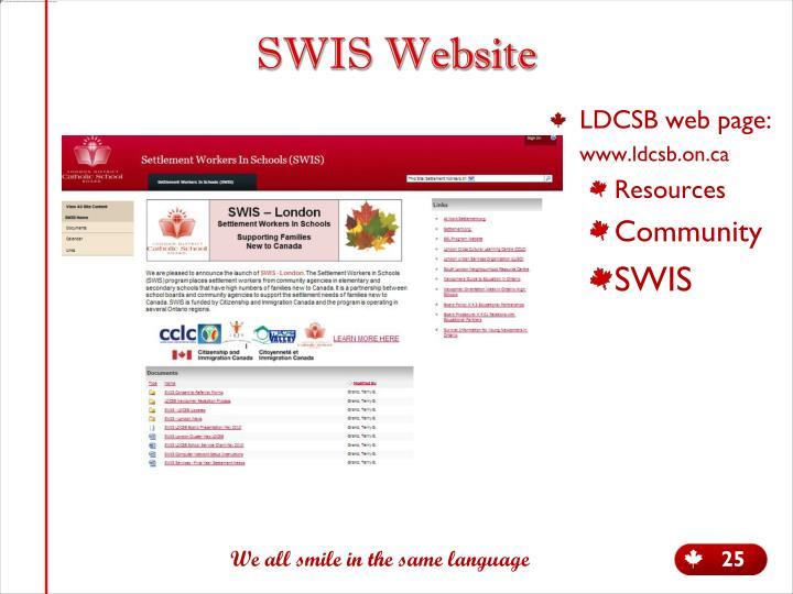 SWIS Website