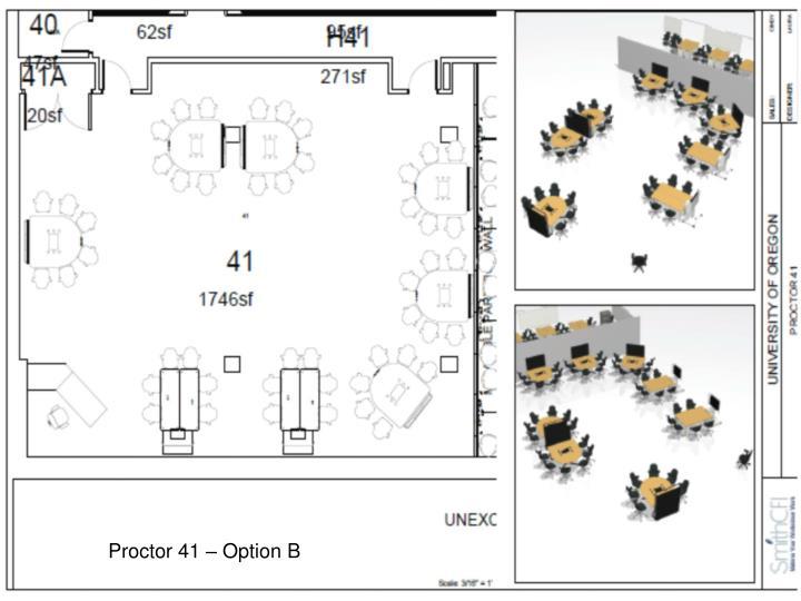 Proctor 41 – Option B