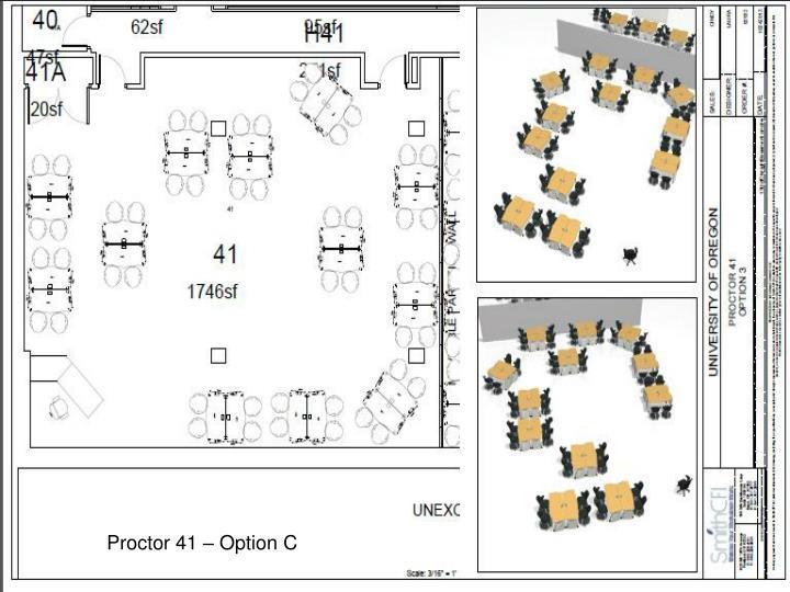 Proctor 41 – Option C