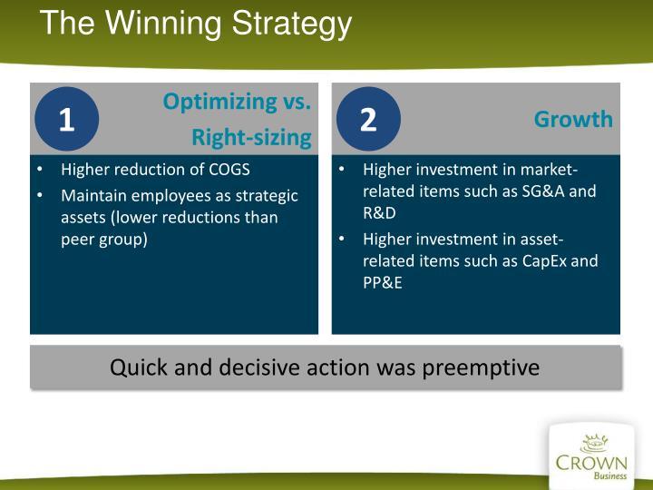 The Winning Strategy