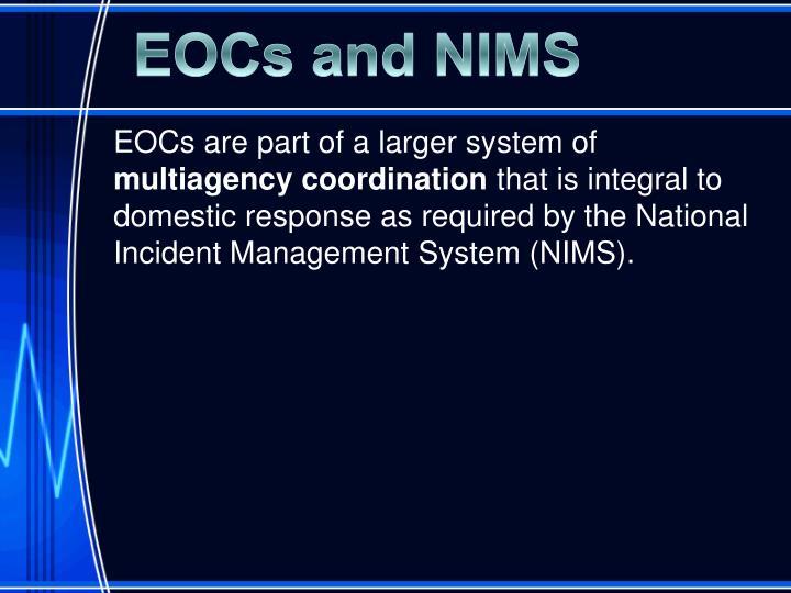 EOCs and NIMS