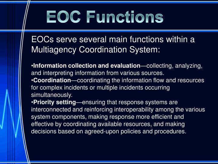 EOC Functions
