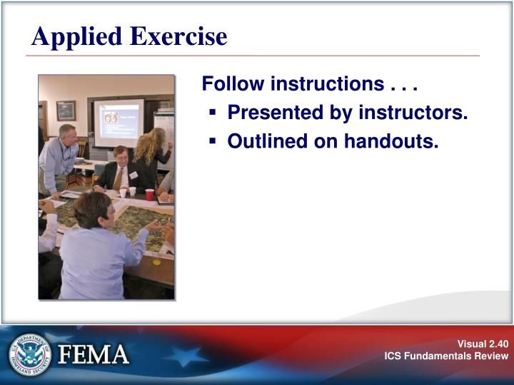 Applied Exercise