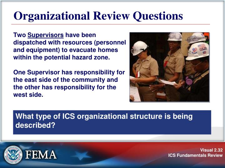 Organizational Review Questions