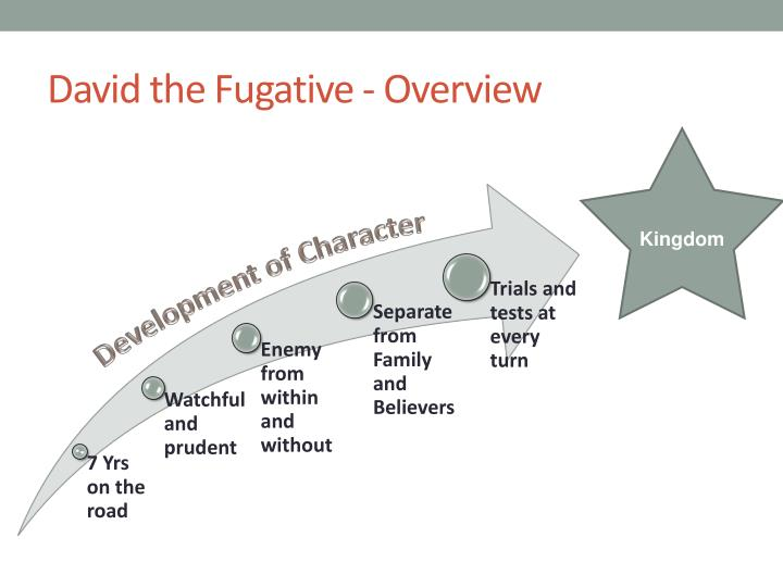 David the Fugative - Overview