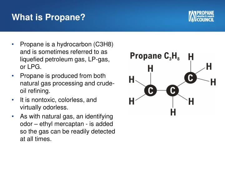 What Is Propane >> Ppt Propane Education Research Council What Is Propane