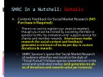 smrc in a nutshell details1