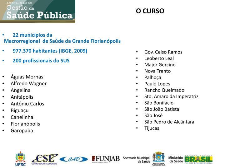 O CURSO