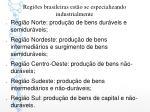 regi es brasileiras est o se especializando industrialmente
