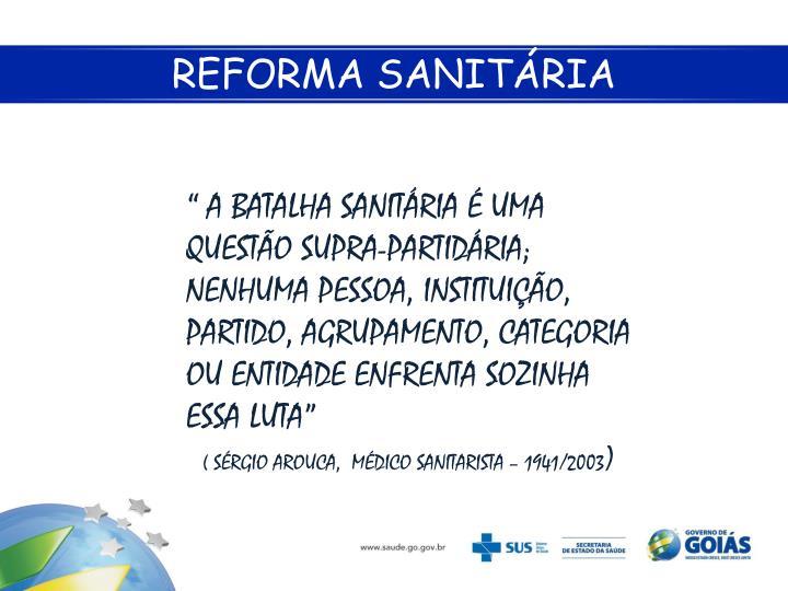 Reforma sanit ria