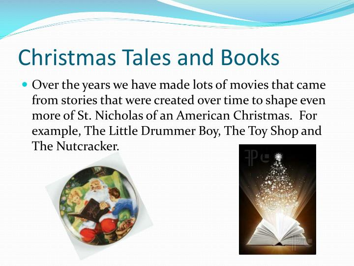 Christmas tales and books