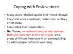 coping with enslavement1
