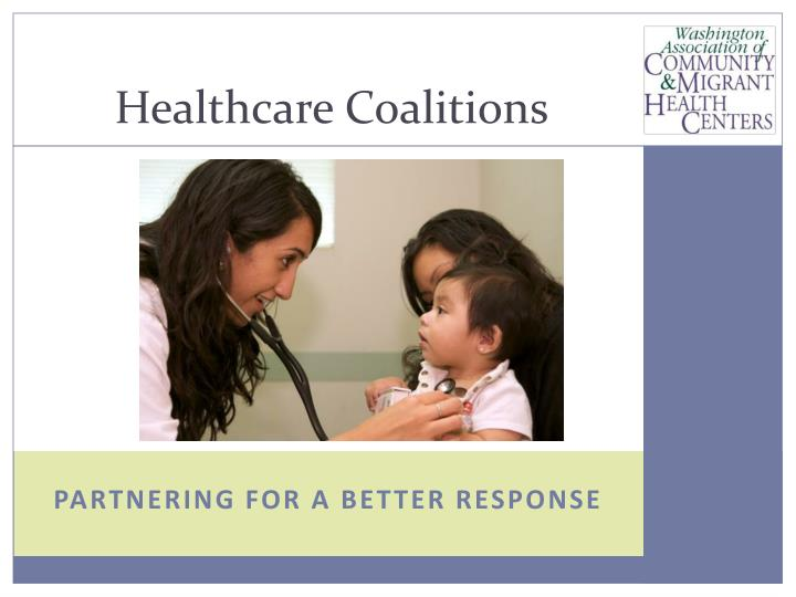 healthcare coalitions n.