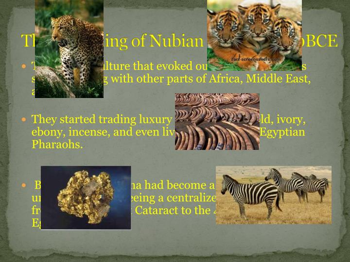 The Beginning of Nubian Culture 2400BCE