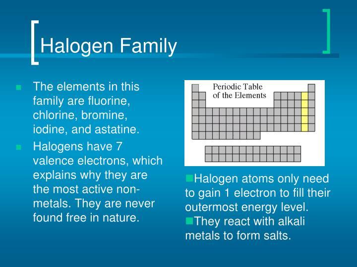 Halogen Family