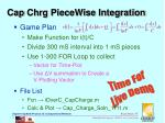 cap chrg piecewise integration