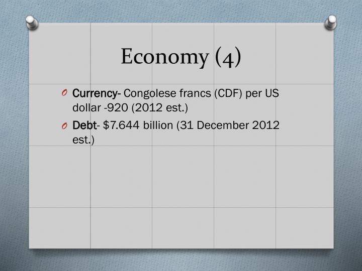 Economy (4)