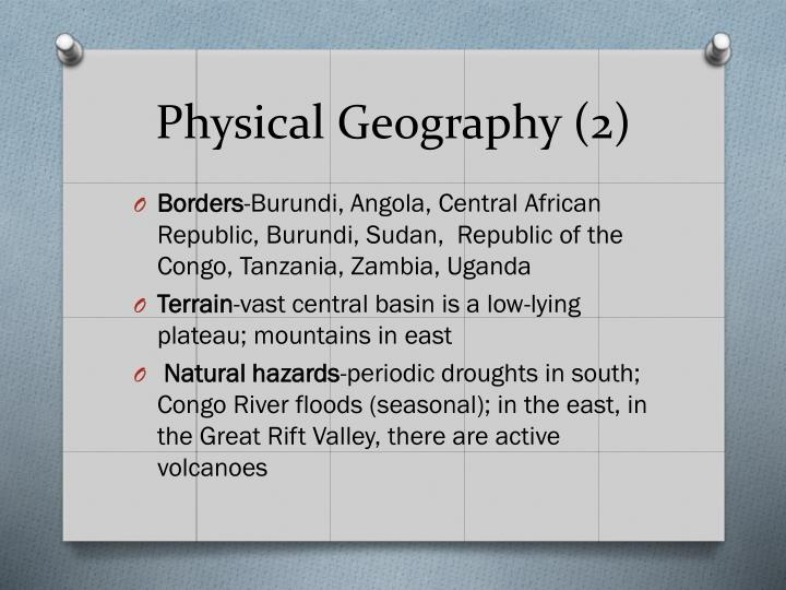 Physical Geography (2)