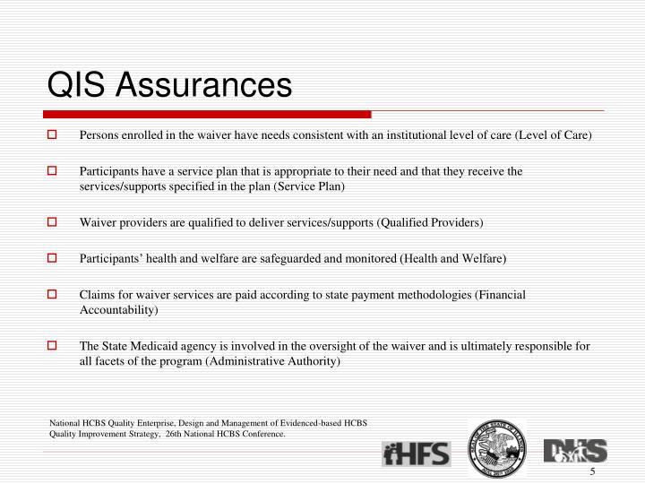 QIS Assurances