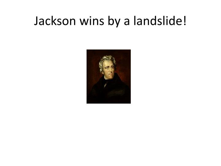 Jackson wins by