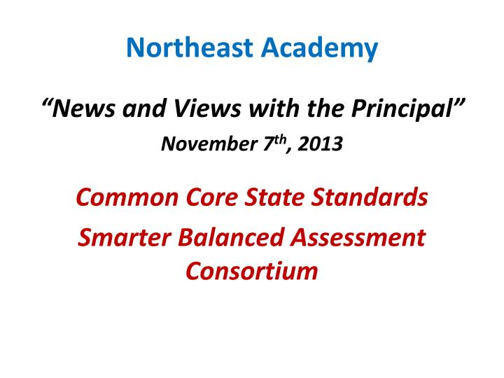 northeast academy n.