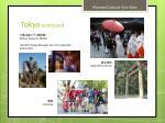 tokyo continued