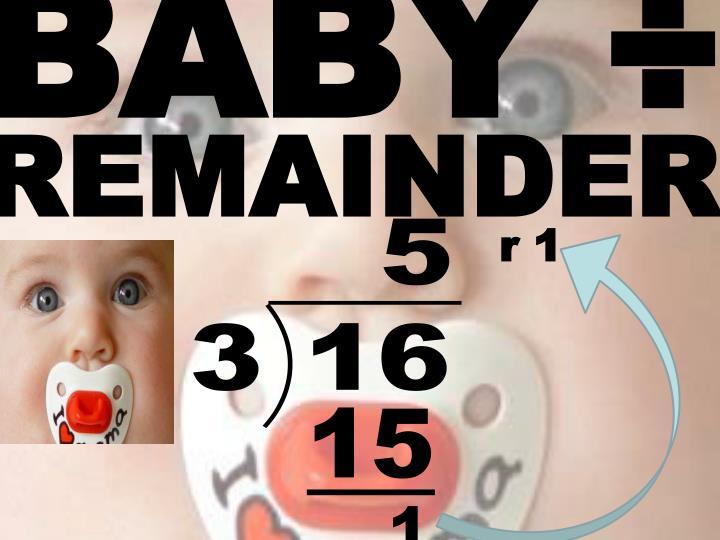 BABY ÷
