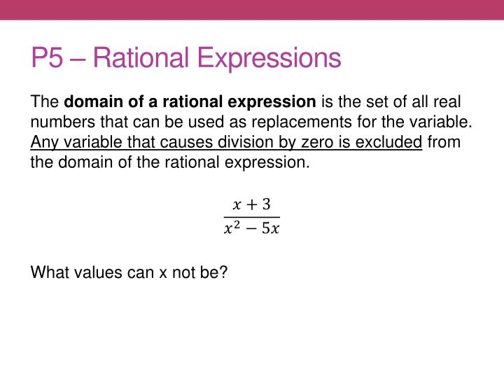P5 rational expressions1