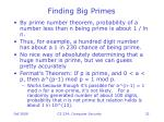 finding big primes